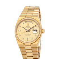 Rolex Day-Date Oysterquartz Yellow gold 36mm Champagne United States of America, New York, Hartsdale