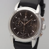 Concord Impresario pre-owned 38mm Chronograph Leather