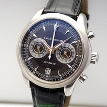 Carl F. Bucherer Steel 42.5mm Automatic 00.10910.08.33.01 pre-owned