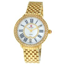 Michele Serein Gold/Steel 36mm Mother of pearl Roman numerals United States of America, New York, New York
