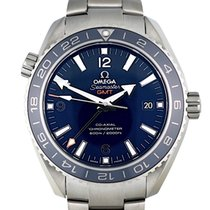 Omega Titanium Automatic Blue Arabic numerals 43.5mm new Seamaster Planet Ocean