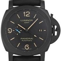 Panerai Luminor 1950 3 Days GMT Automatic neu 2021 Automatik Uhr mit Original-Box und Original-Papieren PAM01441 / PAM1441