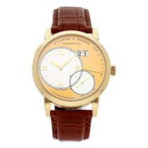 A. Lange & Söhne Yellow gold Manual winding Champagne Roman numerals 38mm Grand Lange 1