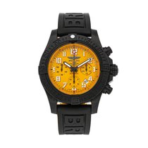 Breitling Automatic Yellow Arabic numerals 45mm Avenger Hurricane