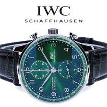 IWC Portuguese (submodel) новые 2021 Автоподзавод Хронограф Часы с оригинальными документами и коробкой IW371615