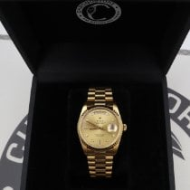 Rolex Day-Date 36 Yellow gold 36mm Champagne United States of America, New York, NYC