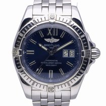 Breitling Cockpit Staal 41mm Blauw