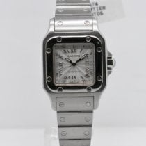 Cartier 2423 Steel 2000 Santos Galbée 24mm pre-owned United States of America, New York, New York
