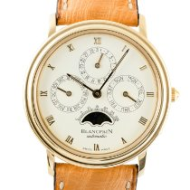Blancpain Yellow gold 33.5mm Automatic Villeret pre-owned