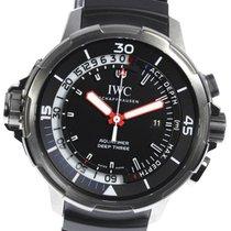 IWC Aquatimer Deep Three Titanium 47mm Black