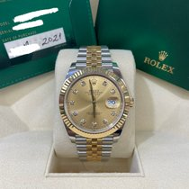 Rolex 126333 Gold/Steel 2021 Datejust 41mm new United States of America, New York, New York