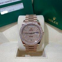 Rolex Day-Date 40 Oro rosa 40mm Marrón Romanos