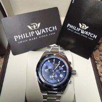 Philip Watch new Quartz 42mm Steel Sapphire crystal