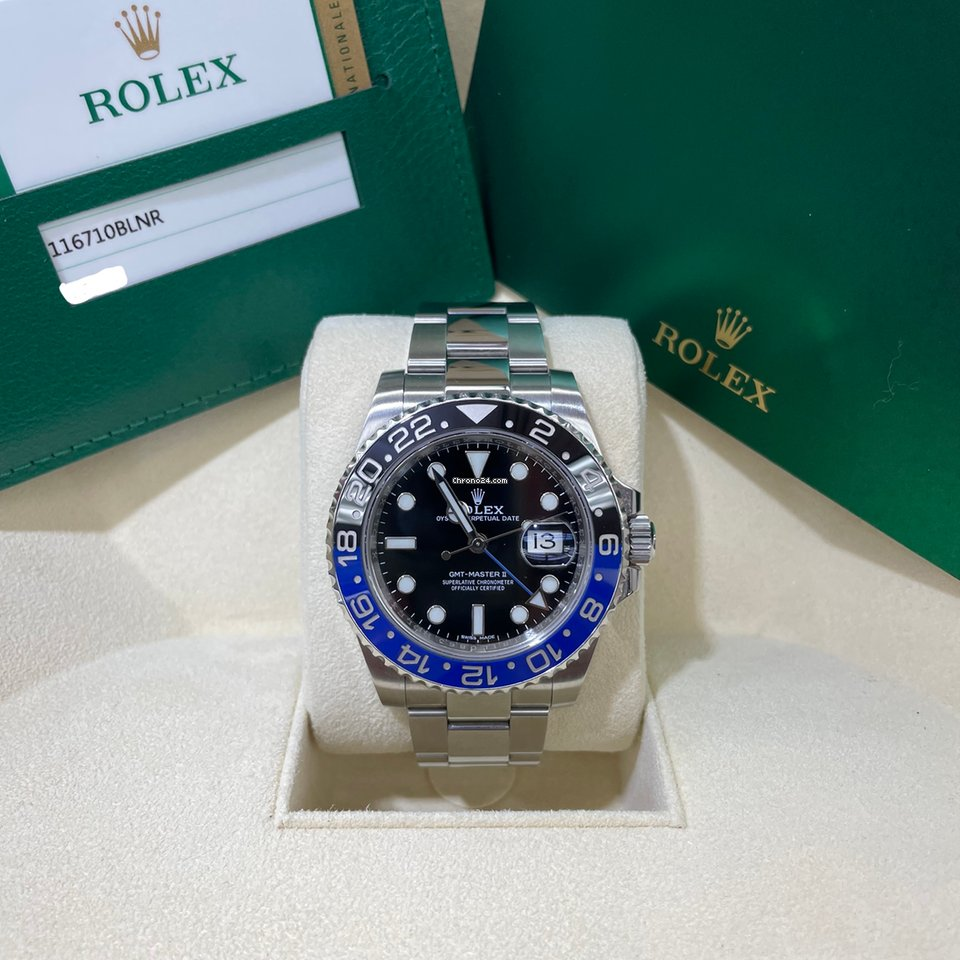 Rolex GMT-Master II 116710BLNR 2017 pre-owned