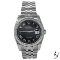 Rolex Datejust Steel 36mm Black Roman numerals United States of America, California, Fullerton