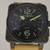 Bell & Ross BR 03-92 Ceramic BR0392-HERITAGE-CE Good Ceramic 42mm Automatic