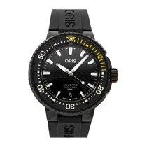 Oris Titanium Automatic Black No numerals 49mm Aquis Date