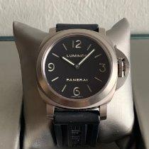 Panerai Luminor Base Steel 44mm Black Arabic numerals Malaysia, Georgetown, penang