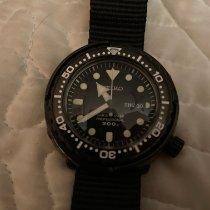 Seiko Marinemaster pre-owned Black