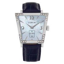 Corum Trapeze Steel 40mm Blue