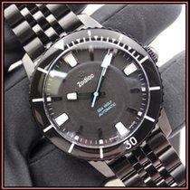 Zodiac Sea Wolf Сталь 40mm Черный Без цифр