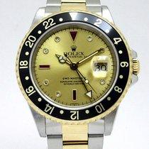 Rolex (ロレックス) イエローゴールド 自動巻き 40mm 中古 GMT マスター II