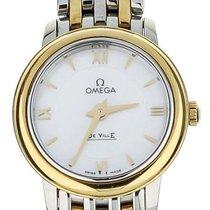 Omega De Ville Prestige Gold/Steel 26mm Mother of pearl United States of America, Illinois, BUFFALO GROVE