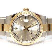 Rolex Lady-Datejust Gold/Steel 31mm Silver United Kingdom, London