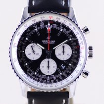 Breitling Navitimer 1 B01 Chronograph 43 Сталь 43mm Черный Без цифр