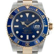 Rolex 116613LB Oro/Acciaio 2013 Submariner Date 40mm usato
