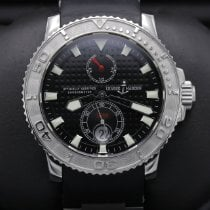 Ulysse Nardin Steel Black 42mm pre-owned Maxi Marine Diver