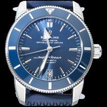 Breitling Superocean Heritage II 42 Staal 42mm Blauw Geen cijfers