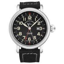 Zeno-Watch Basel OS Pilot Steel 48mm Black United States of America, Florida, Sarasota