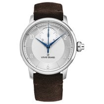 Louis Erard Excellence Steel 43mm Silver United States of America, Florida, Sarasota