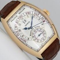 Franck Muller Cintrée Curvex Rose gold 39.5mm Silver Arabic numerals