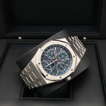 Audemars Piguet Royal Oak Perpetual Calendar Stahl 41mm Blau Keine Ziffern