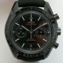 Omega Speedmaster Professional Moonwatch Cerâmica 44,25mm Preto Sem números
