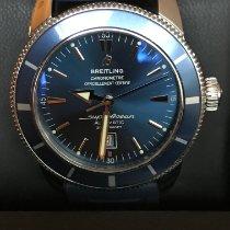 Breitling Superocean Heritage 46 Staal 46mm Blauw Geen cijfers Nederland, Amsterdam