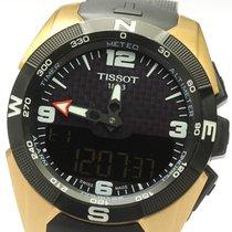 Tissot T-Touch Expert Solar Титан 45mm Черный