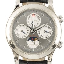 Jaeger-LeCoultre White gold Automatic Grey 41.5mm pre-owned Master Memovox