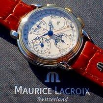 Maurice Lacroix Masterpiece 66412 Muy bueno Acero y oro 38mm Automático