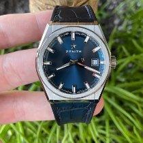 Zenith Titanium Automatic Blue No numerals 41mm pre-owned Defy