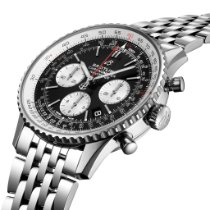 Breitling A022B-1NP Staal 2019 43mm nieuw