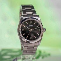 Rolex Oyster Perpetual 31 Steel 31mm Black Arabic numerals