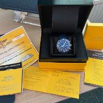 Breitling Superocean Heritage Chronograph Staal 46mm Blauw Geen cijfers Nederland, Leiderdorp