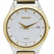 Seiko Solar 40mm Weiß