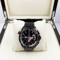 TAG Heuer Titanium Automatic 43mm pre-owned Grand Carrera