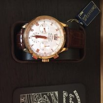 Eberhard & Co. Red gold Silver 41mm new Extra-Fort