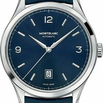 Montblanc Heritage Chronométrie Steel 40mm Blue Arabic numerals United States of America, Florida, Sarasota