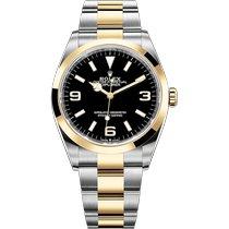 Rolex 124273-0001 Goud/Staal 2021 36mm nieuw